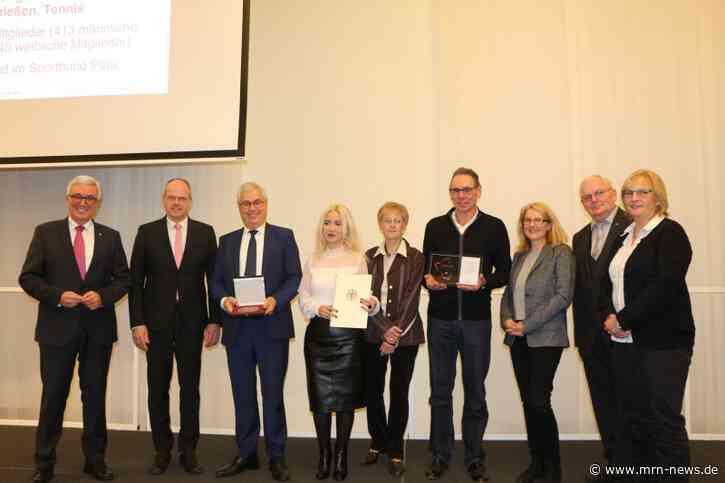 Ludwigshafen – Die DJK Oppau wurde mit der Sportplakette des Bundespräsidenten ausgezeichnet