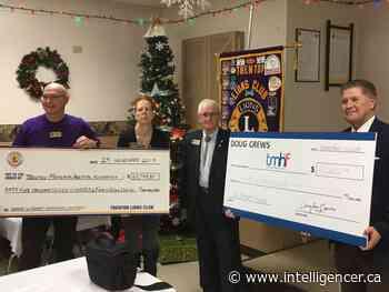 Trenton Lions Club raises funds for TMH