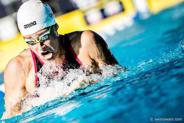 Madisyn Cox Disqualified after 2:11.0 in 200 IM Prelims at U.S. Open