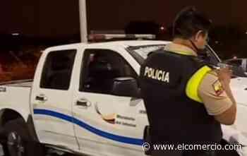 Una agente de tránsito fue herido por disparos, tras persecución en Guayaquil