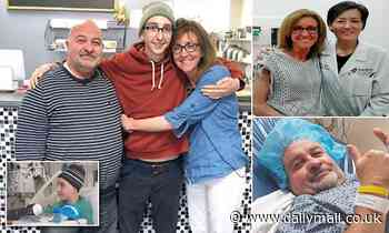 Married couple and son, 17, ALL battling cancer and have put their family restaurant up for sale
