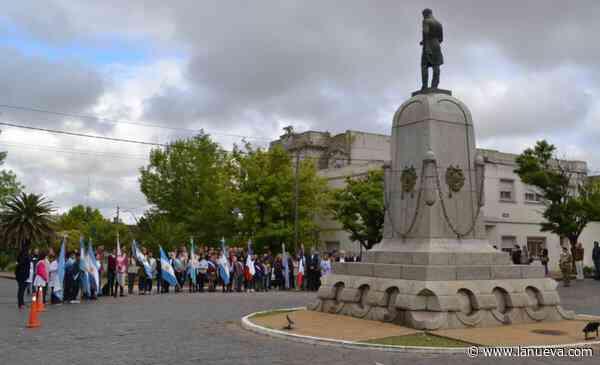 La comunidad de Pigüé homenajeó a sus fundadores