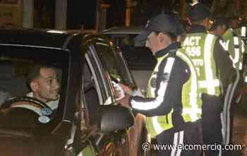 26 conductores sancionados por conducir en estado de embriaguez en los últimos 10 días en Quito