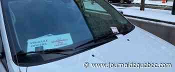 Grande guignolée des médias: une contravention de stationnement pour l'équipe de bénévoles de Jean-Philippe Dion