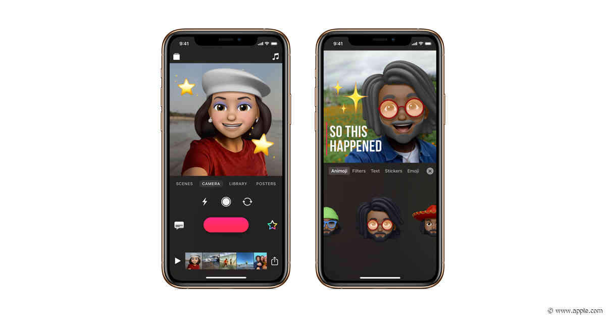 Clips now features Memoji and Animoji, new stickers and more