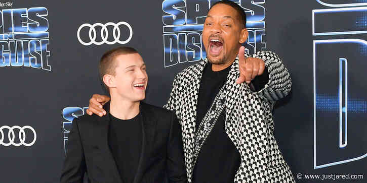 Tom Holland & Will Smith Met for the First Time in an Escape Room! (Video)