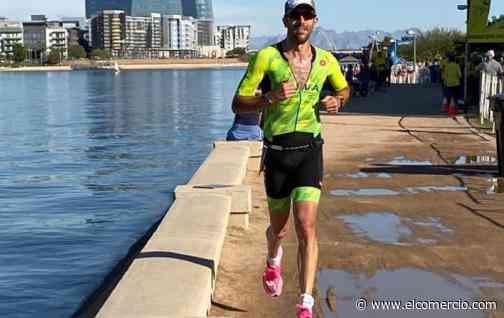 José María Ponce cambió su estilo de vida y se convirtió en el ecuatoriano más rápido en un Ironman