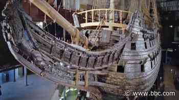 What caused this great warship to sink?