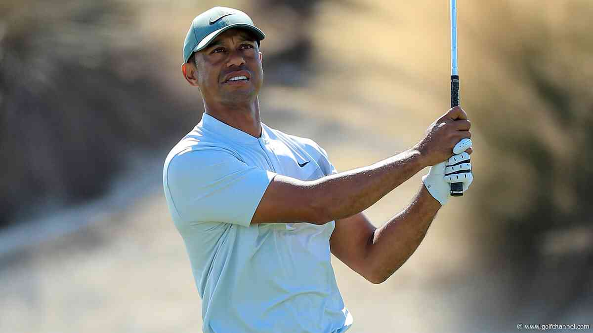 Woods (66) vaults up leaderboard, feels 'good with every aspect' of game