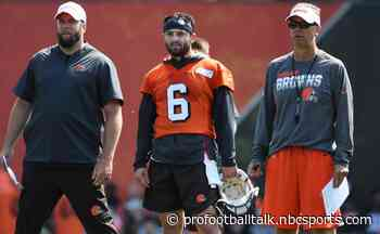 """Todd Monken has no doubt Browns have """"right guy"""" at quarterback"""