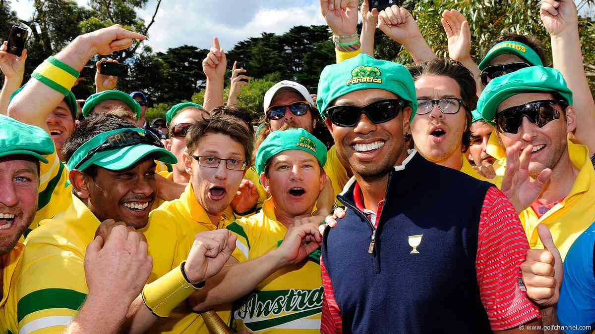 Woods: Scott is right; Aussie fans shouldn't cheer me at Presidents Cup