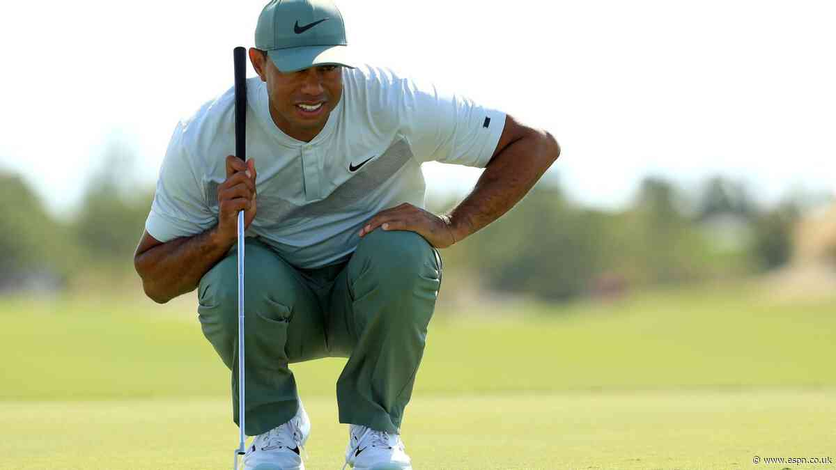 Tiger rebounds in Bahamas, tied for fifth place