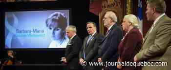 [EN IMAGES] Cérémonie à l'Assemblée nationale en mémoire des victimes de Polytechnique
