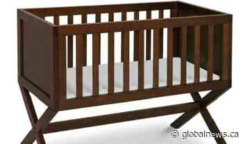 Health Canada issues recall for DaVinci baby bassinet, advises to stop use immediately