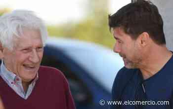 Mauricio Pochettino visita las instalaciones de Newell's Old Boys