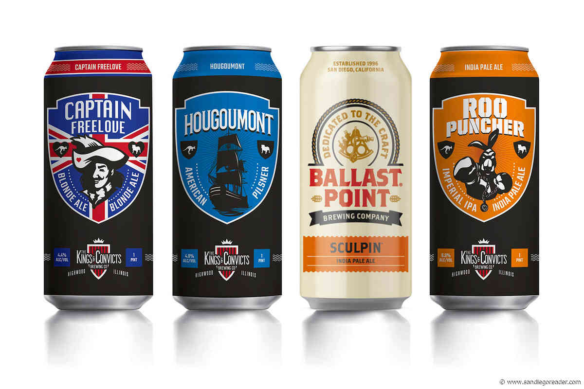 Who are Kings & Convicts Brewing, and what are their plans for Ballast Point?