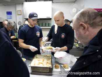 Brownstein: Firefighters warm the stomachs of the homeless