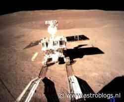 Chinese rover Yutu-2 maakt gestaag meters op ruige zuidpool van de maan