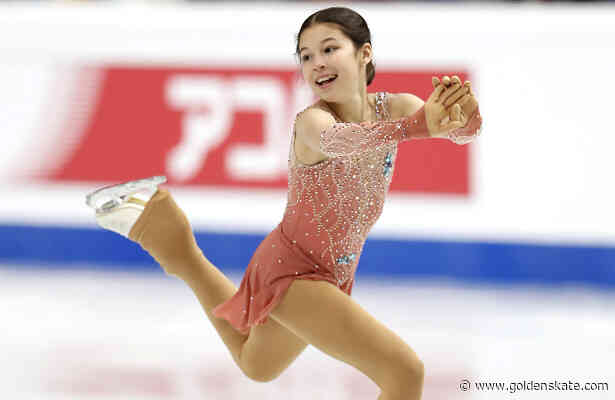 USA's Liu leads junior ladies in Torino after making history