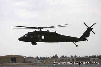Guard: Black Hawk helicopter with 3 aboard crashes in Minnesota