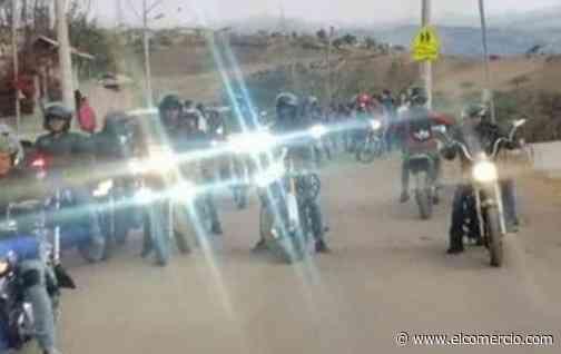 Motociclistas organizan rodada y caravana solidaria en beneficio de 350 niños de escuela de Oyacoto
