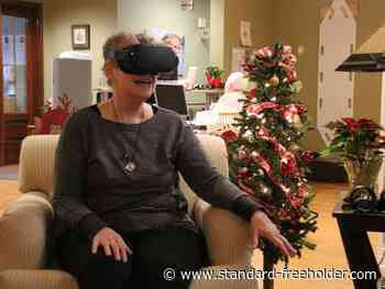 VR lets Cornwall Hospice patients see the world and stay connected