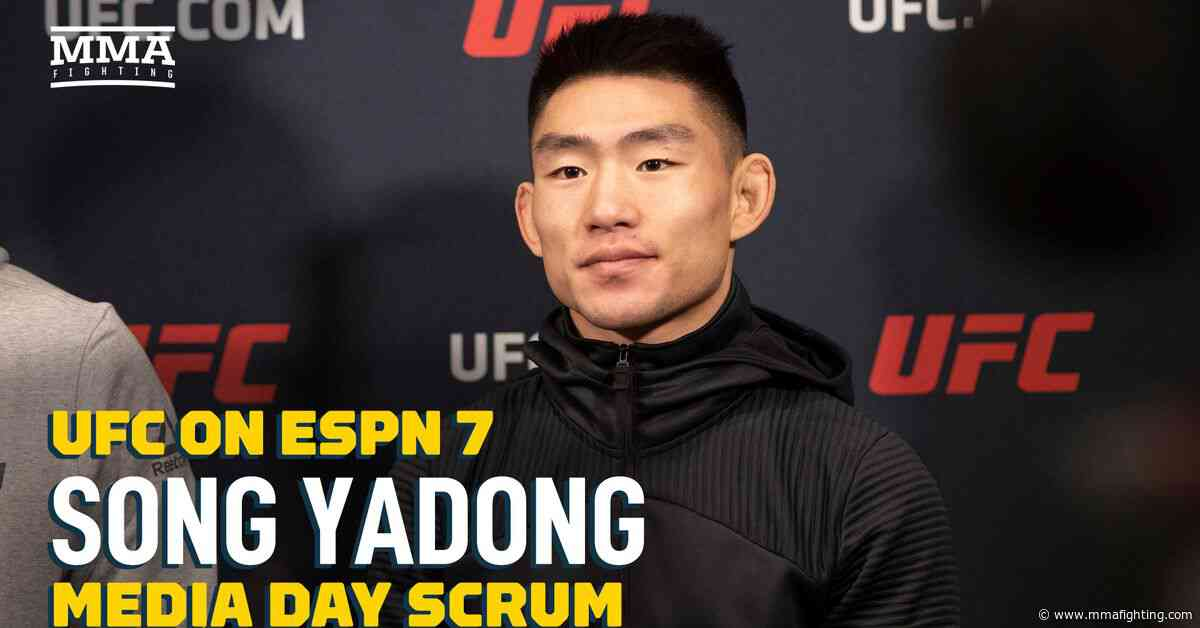 VIDEO: Song Yadong not sure, but he'll try to break Jon Jones' record as youngest UFC champ