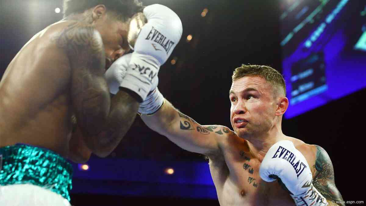Frampton suffered two broken hands in latest win