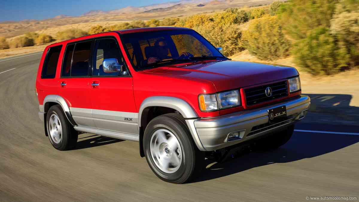 SLX Punk: Acura's Rad Restomod '97 SLX Packs 350 HP and SH-AWD