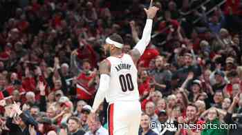 Portland reportedly to guaranteed Carmelo Anthony's contract for rest of season