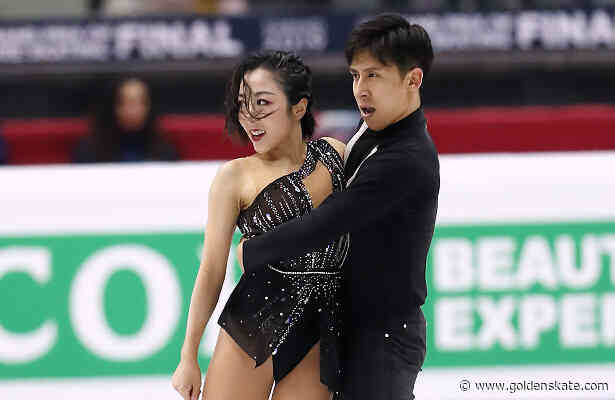 Sui and Han lead pairs at fourth Grand Prix Final