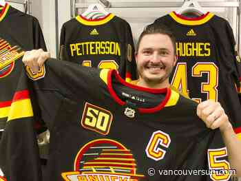 Garish but great: Flying skate Canucks jerseys enjoy a renaissance
