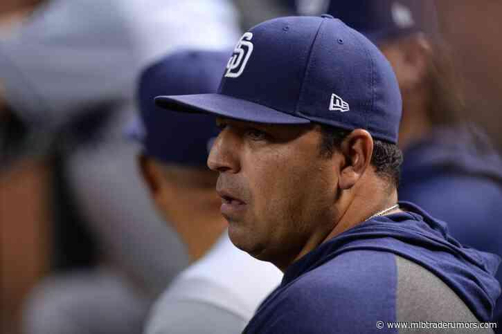 Padres Finalize Coaching Staff
