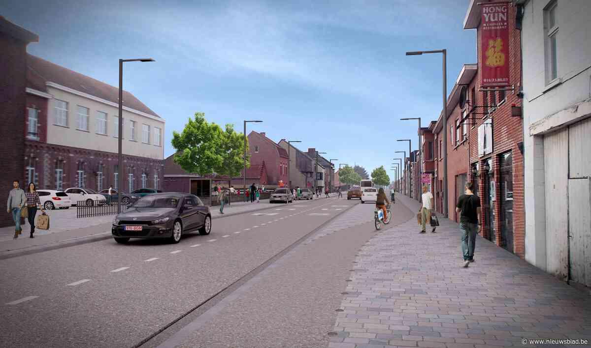 Eindelijk beweging in plannen voor herinrichting Aarschotsesteenweg