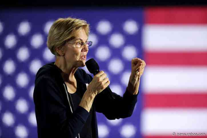 Support for Elizabeth Warren drops to lowest since August in White House race: Reuters/Ipsos poll