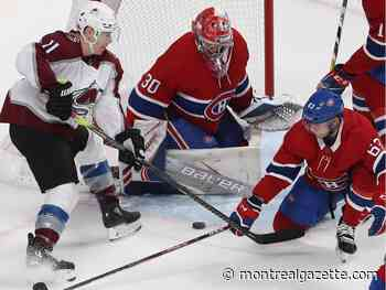 Canadiens' rally falls just short as Habs lose 3-2 to the Avalanche