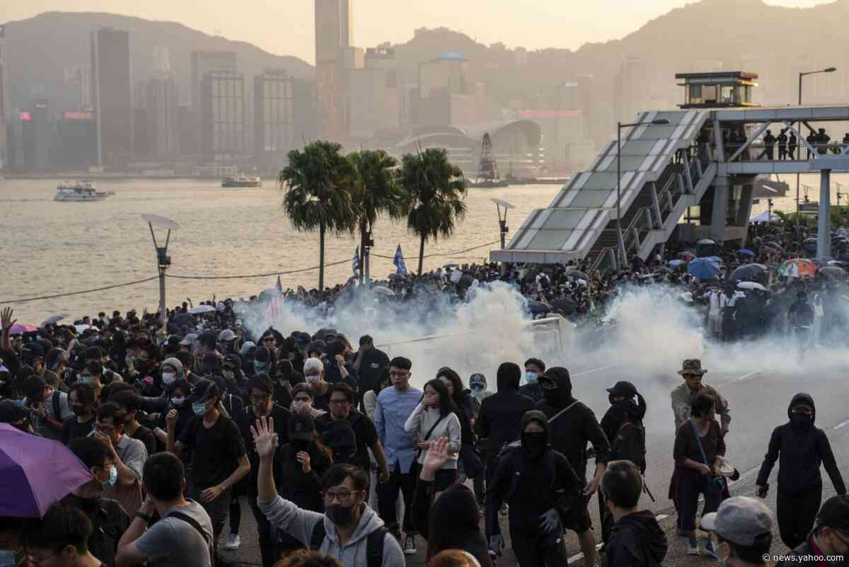 Hong Kong Protest Momentum Faces Test With Weekend Rally, Strike