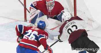 Call of the Wilde: A Colorado Avalanche hits the Bell Centre, burying the Montreal Canadiens