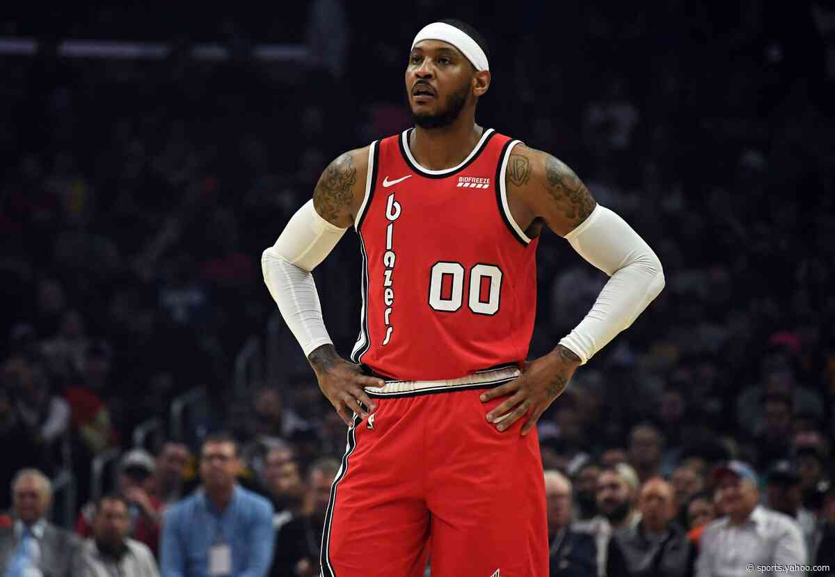 Report: Blazers fully guarantee Carmelo Anthony's contract