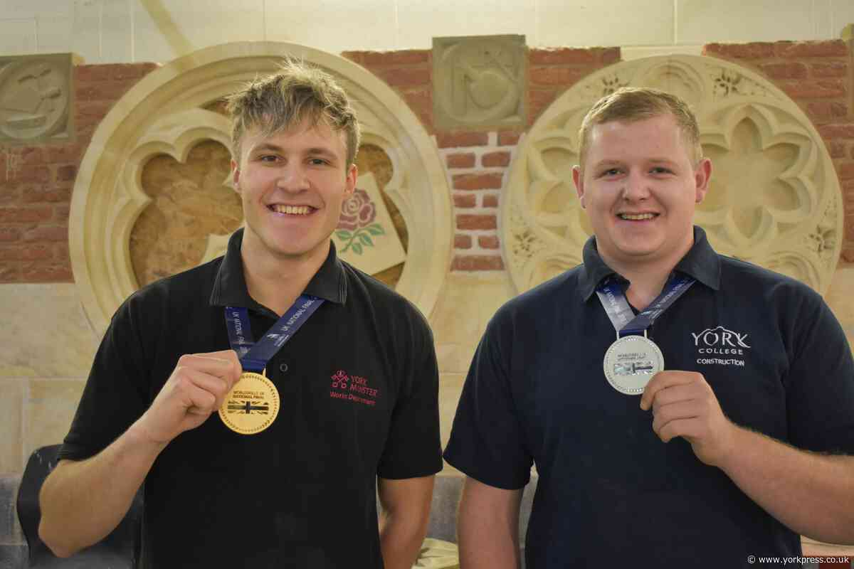York College duo in medals delight
