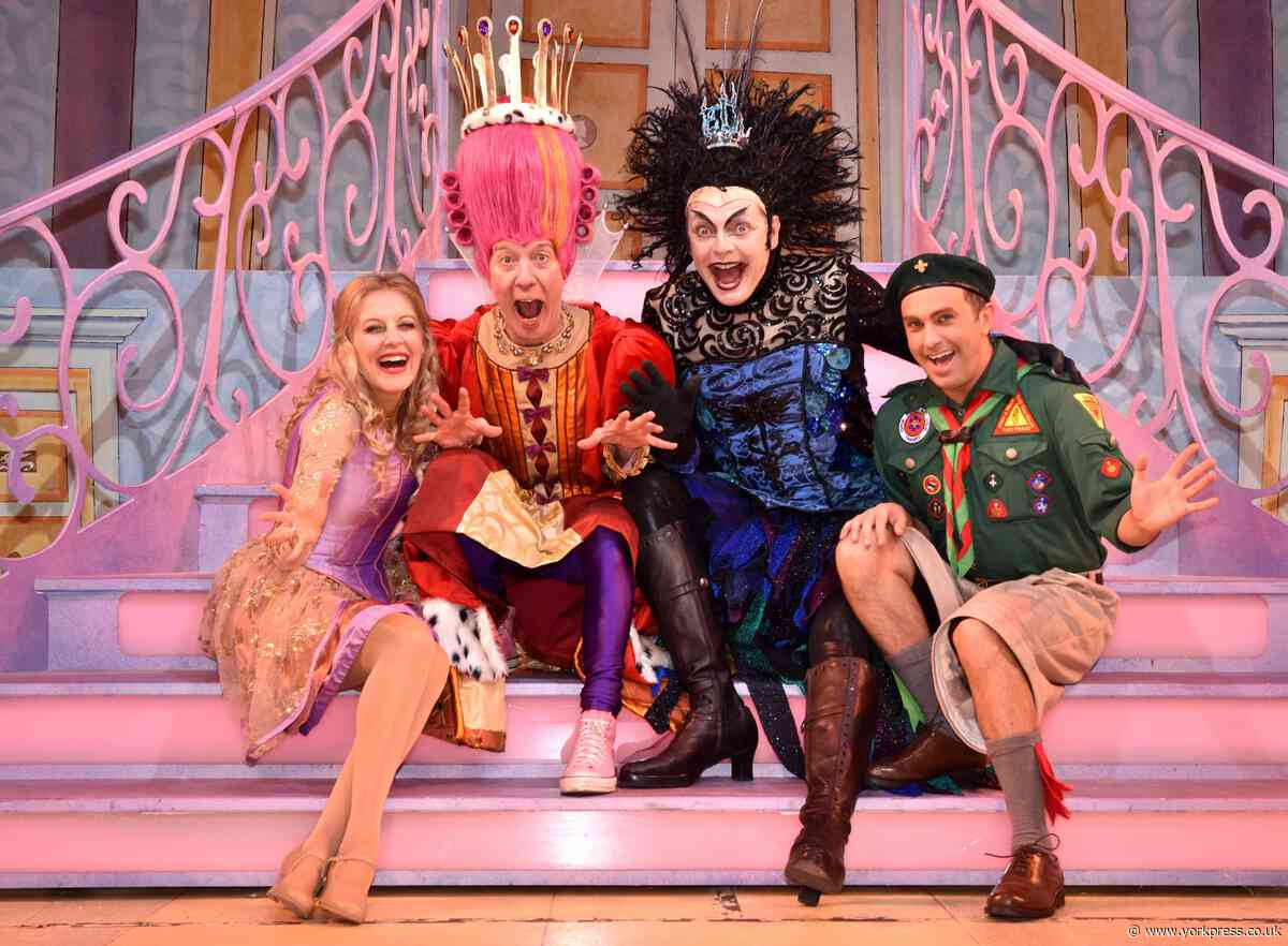 30,000 tickets sold for York Theatre Royal's panto Sleeping Beauty