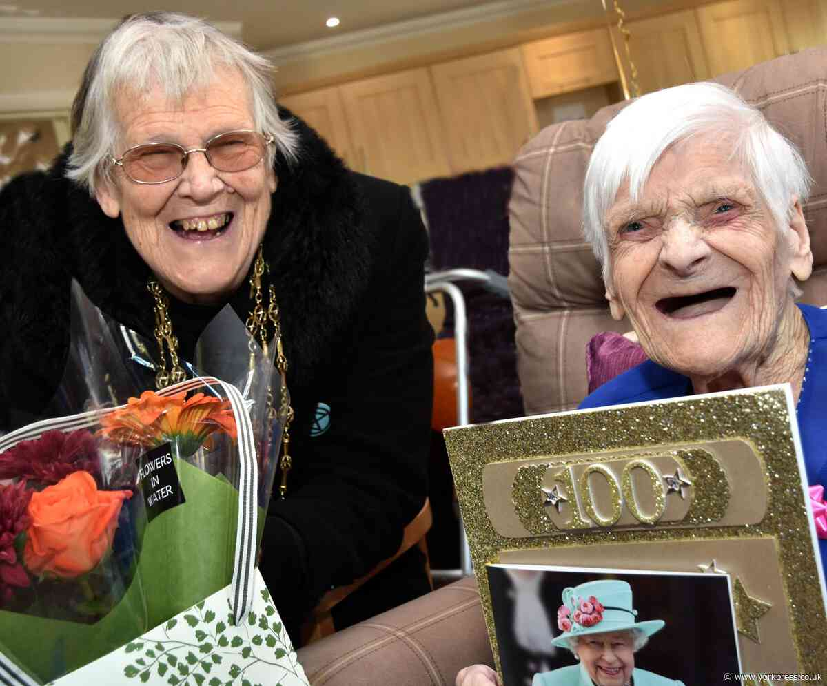 Elsie marks her 100th birthday with chocolates
