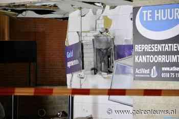 Plofkraak op pinautomaat in Ede, woningen beschadigd