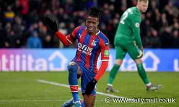 Wilfried Zaha's agent says Crystal Palace star 'deserves a new challenge'
