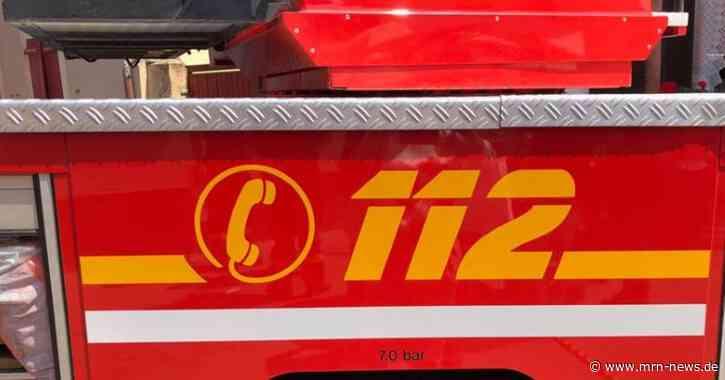 Ludwigshafen – Gartenhaus gerät in Brand-schneller Feuerwehreinsatz verhindert Schlimmeres