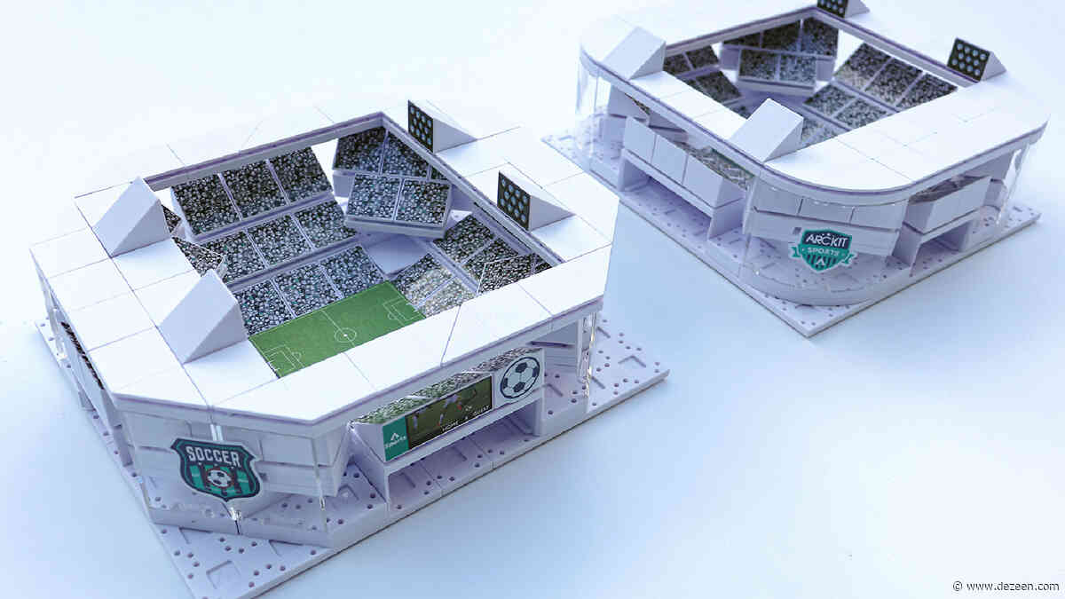 Competition: win an architectural stadium model-building kit by Arckit