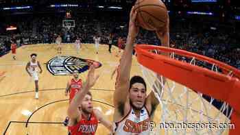 Watch Devin Booker drop 44, help Suns hang to beat Pelicans in overtime