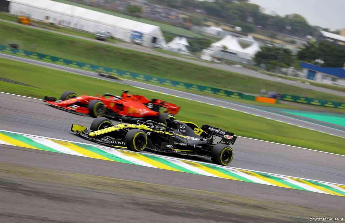 Abiteboul: 'Renault- en Ferrari-motor het sterkst in de races, Mercedes het zwakst'