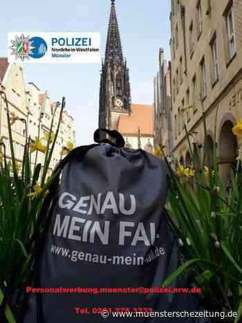 Münster: Informationsveranstaltung der Polizei NRW zum Polizeiberuf am 9. Dezember