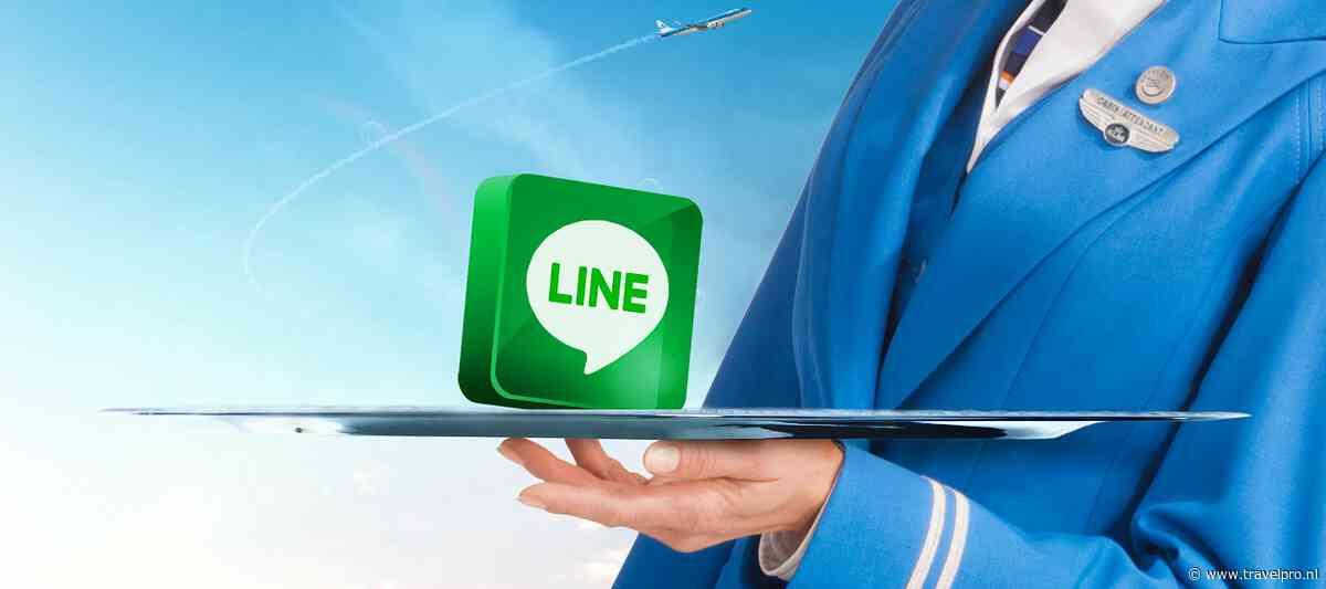 KLM introduceert nieuw social servicekanaal: LINE